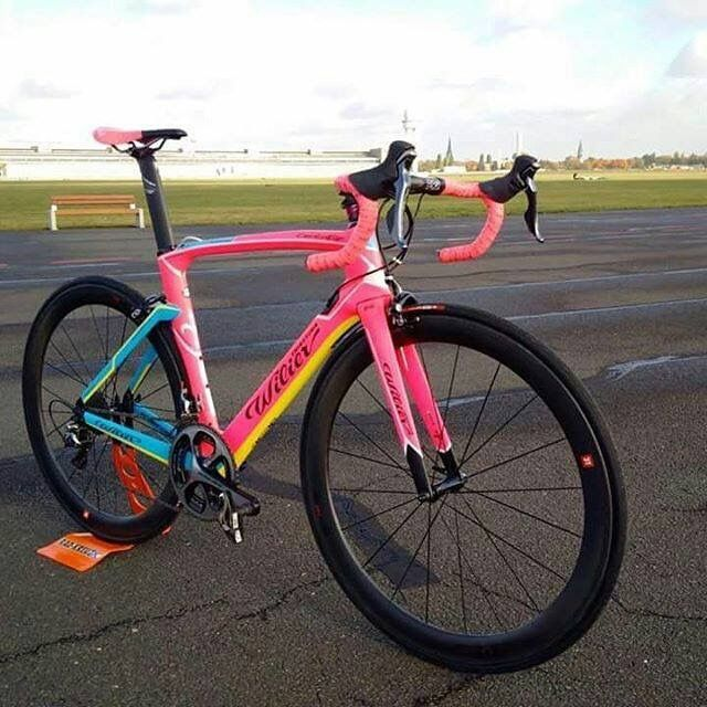 Bright Pink Wilier Road Cycling