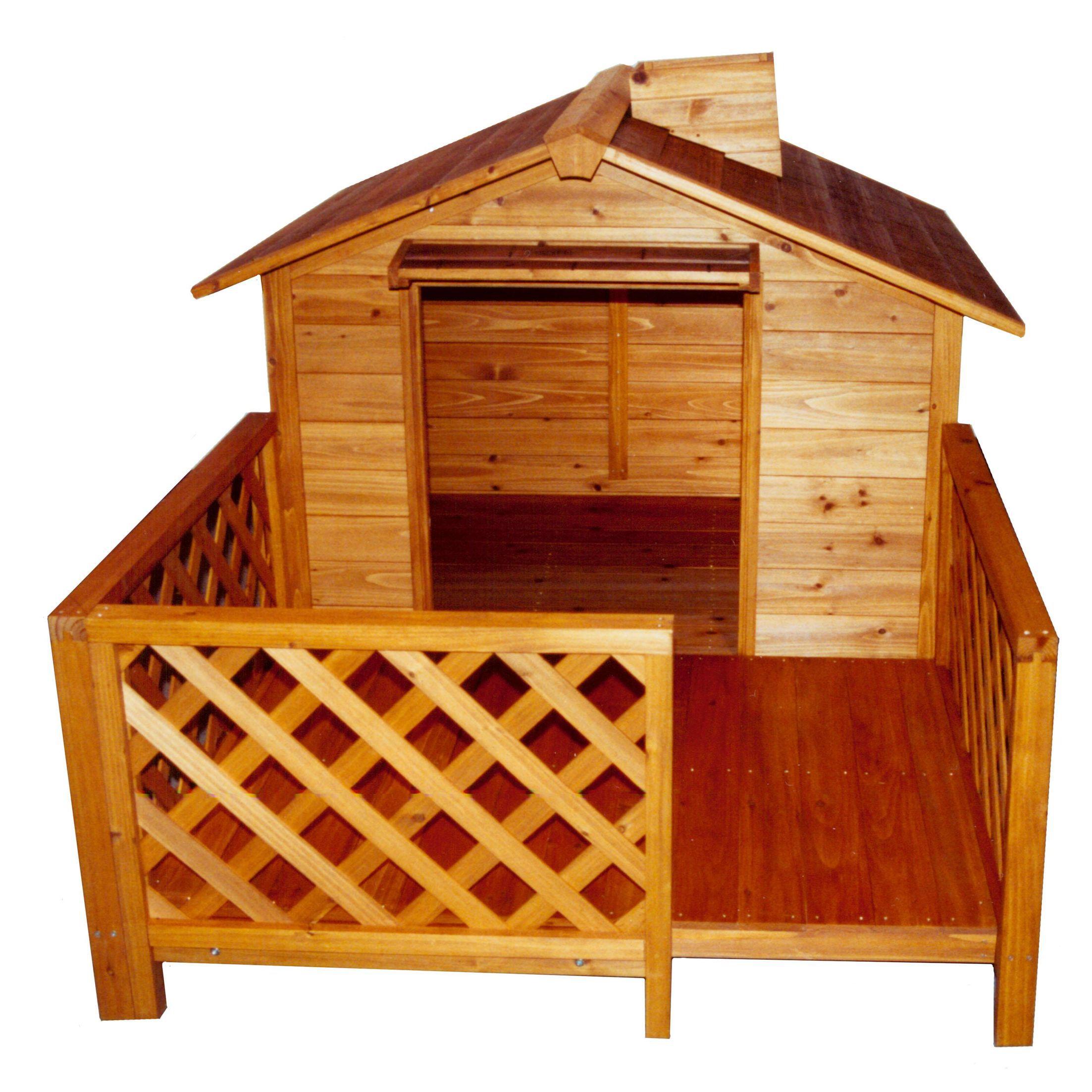 The Mansion Dog House Wooden dog house, Large dog house