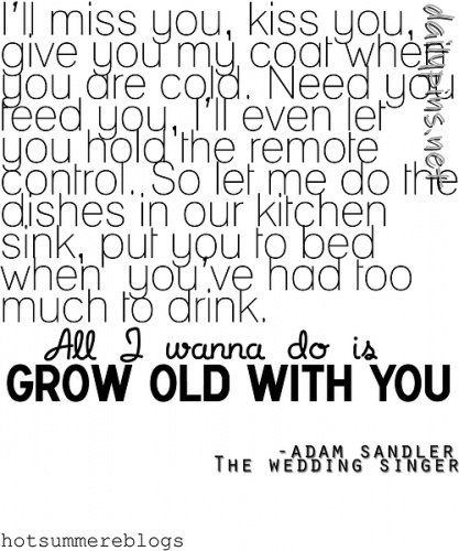 If I ever got married, I would want this played..