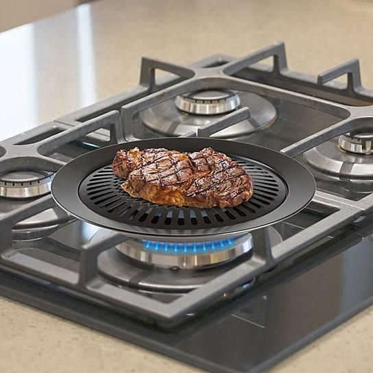 Smokeless Indoor Outdoor Stovetop Bbq Grill Stove Top Grill Cooking Recipes Cooking