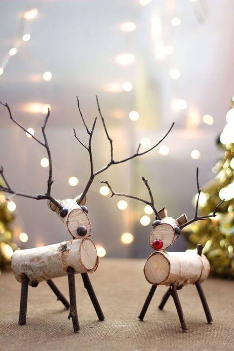 Skandinavische DIY Weihnachtsdeko und Bastelideen zu Weihnachten #noel2019bricolage