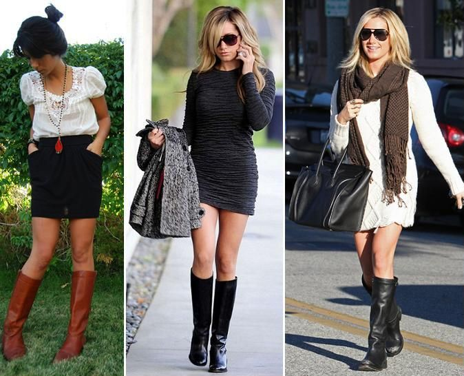 how to wear leggings with boots pictures | there are of course ...