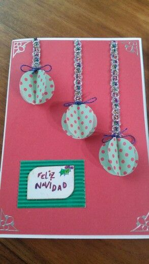 Targeta de navidad handmade