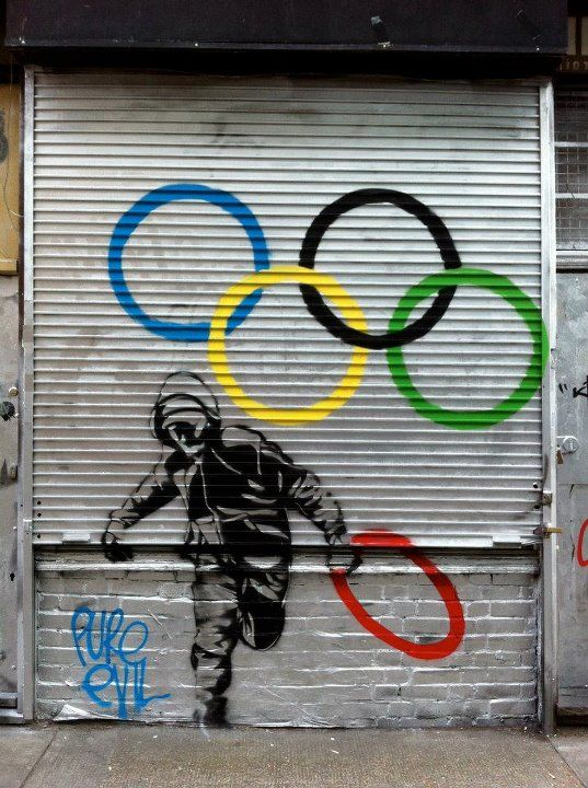 Street art in Whitechapel — photo by www.theluxuryofprotest.com