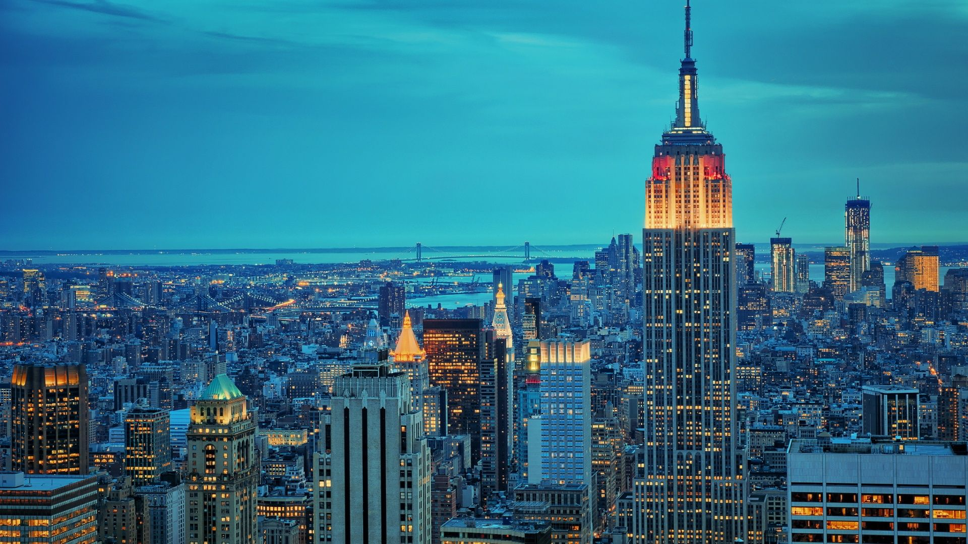 1920x1080 new york empire state wallpaper images