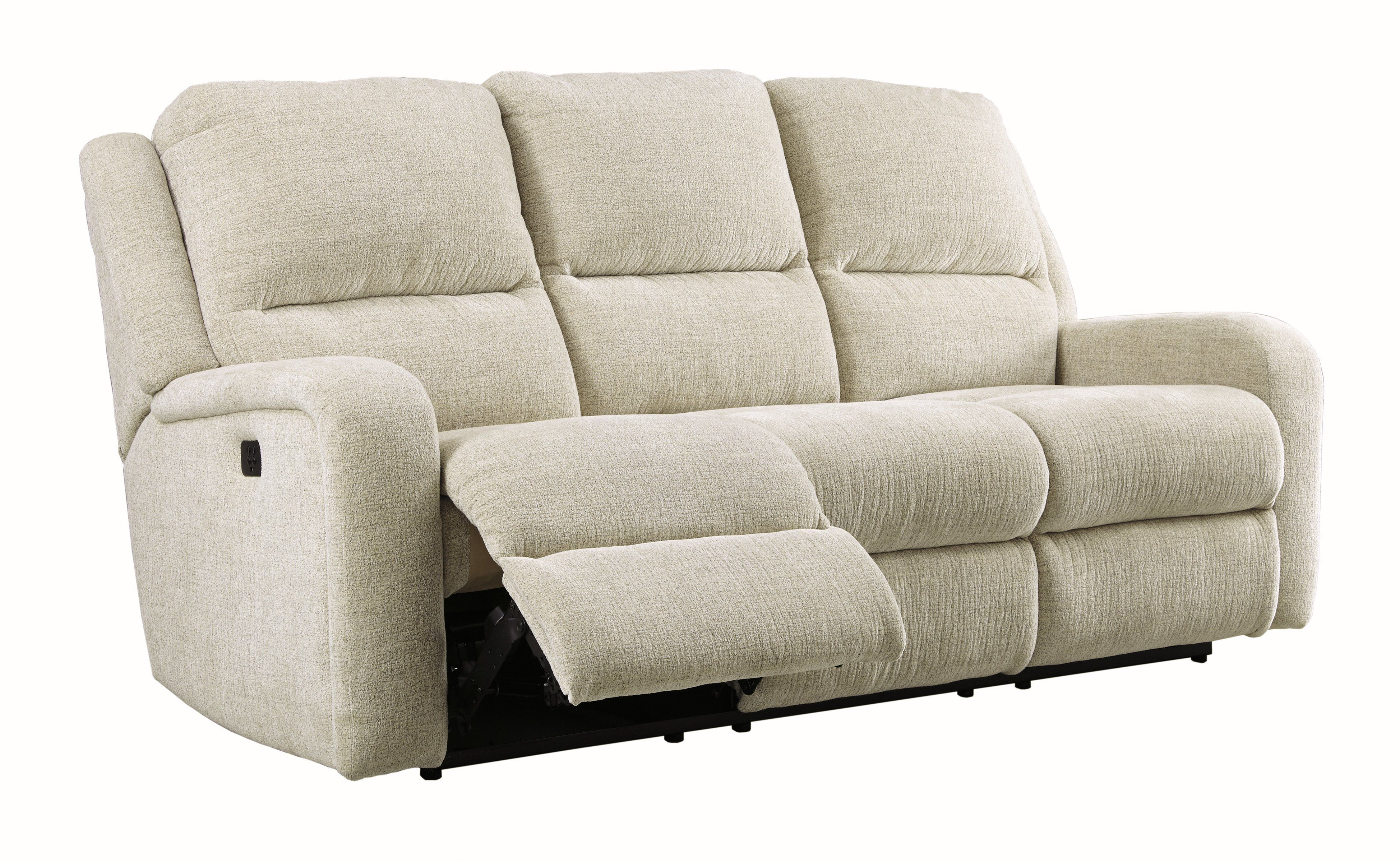 Phenomenal Krismen Power Reclining Sofa W Adjustable Headrest Evergreenethics Interior Chair Design Evergreenethicsorg