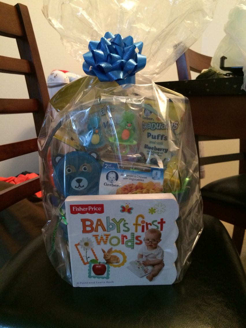 Easter basket for my infant baby pics pinterest easter baskets easter basket for my infant negle Image collections