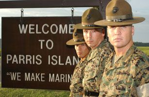 Parris Island - Went to see my nephew graduate as a Marine.  Awesome.
