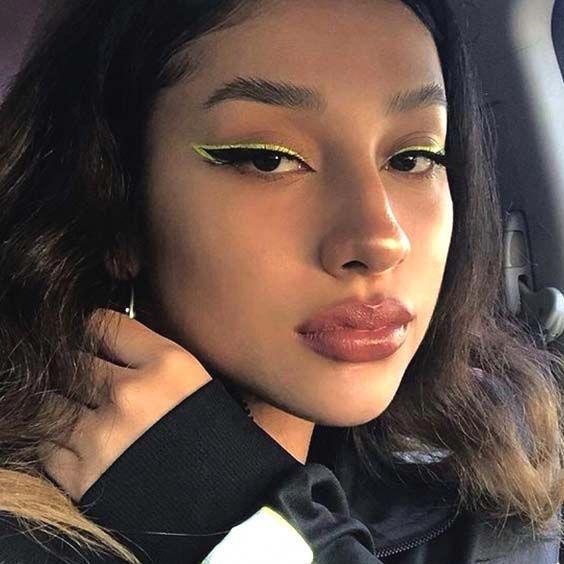 farbiger Eyeliner - farbiger Eyeliner -
