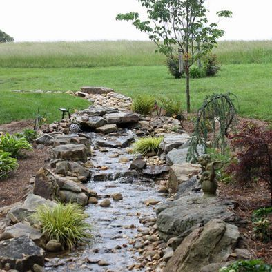 Building A Dry Creek Bed Design Pictures Remodel Decor And