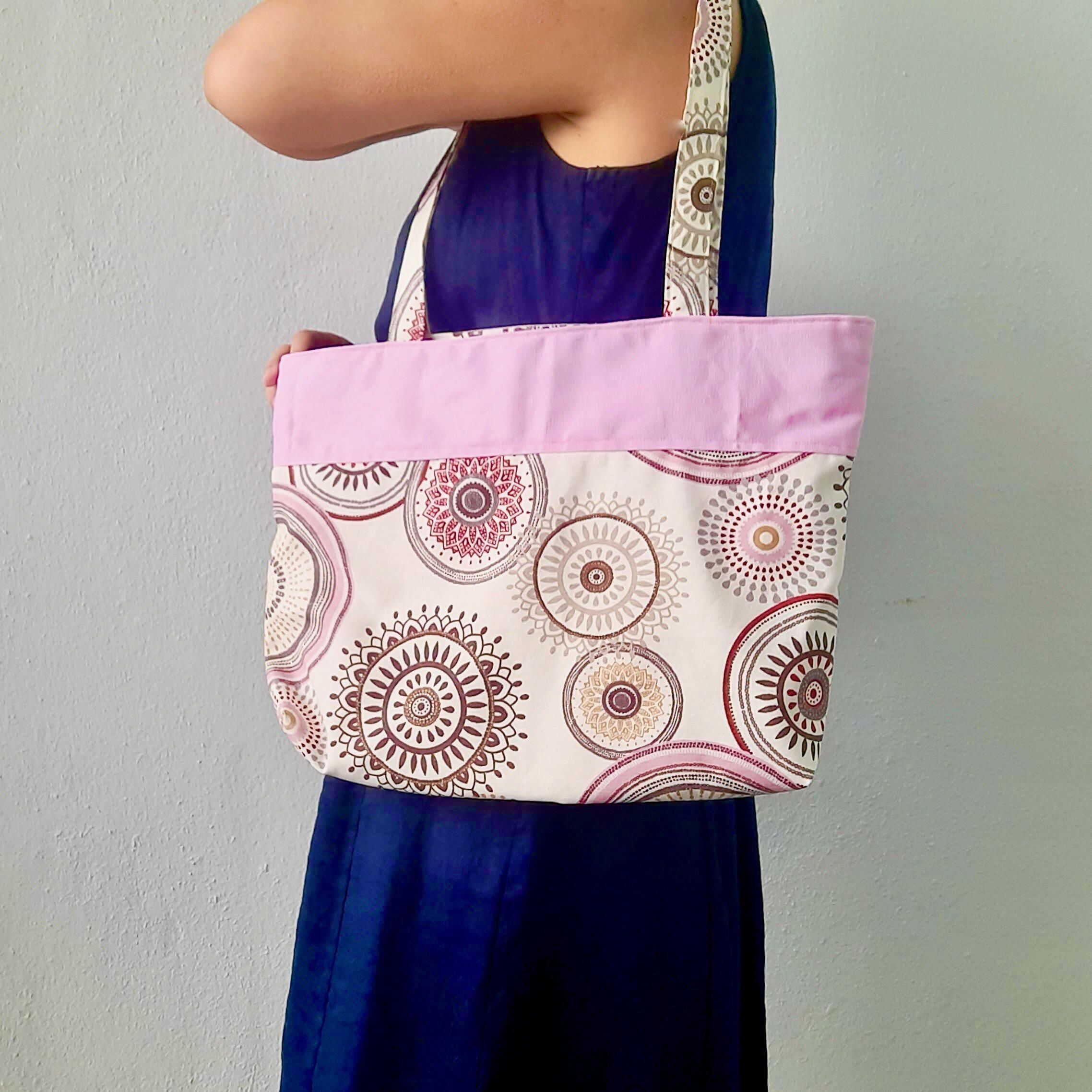 An everyday tote with a dash of whimsy The RUFFLE Bag
