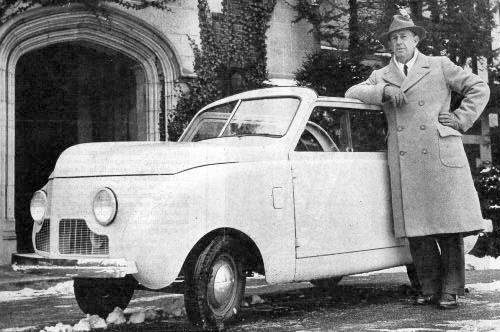 Powell Crosley Jr and Crosley car