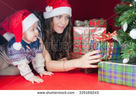 Image by Shutterstock Kid As A Christmas Tree Women/'s Tee