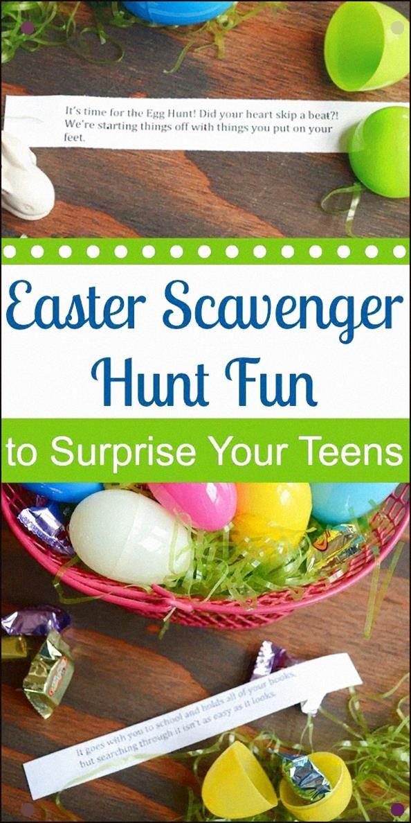 Pin on Easter scavenger hunt
