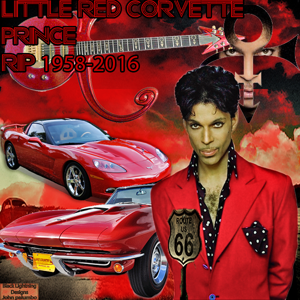 Prince Little Red Corvette Rip U Will Be Missed Wallpaper I Created