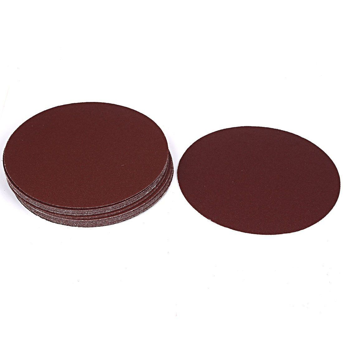 New Grinding Polishing Hook And Loop Sanding Disc Sandpaper 80 Grit 7 Inch Dia 20pcs Attention Valid Discount In 2020 Sanding Sandpaper Woodworking Machinery