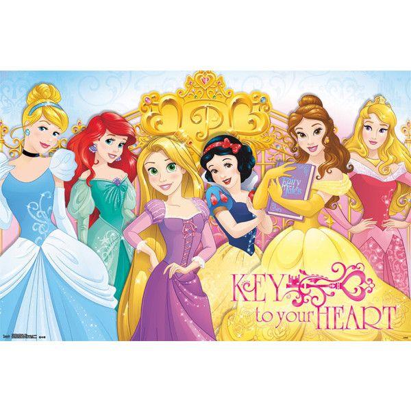 Disney Princess - Keys Poster - 22x34 ($9.99) ❤ liked on Polyvore ...