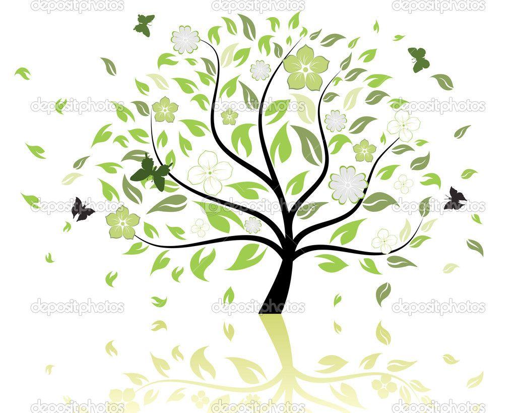 Free Tree Patterns Tree Pattern Stock Vector C Pavel Konovalov 3661043 Free Vector Art Free Vector Illustration Illustration