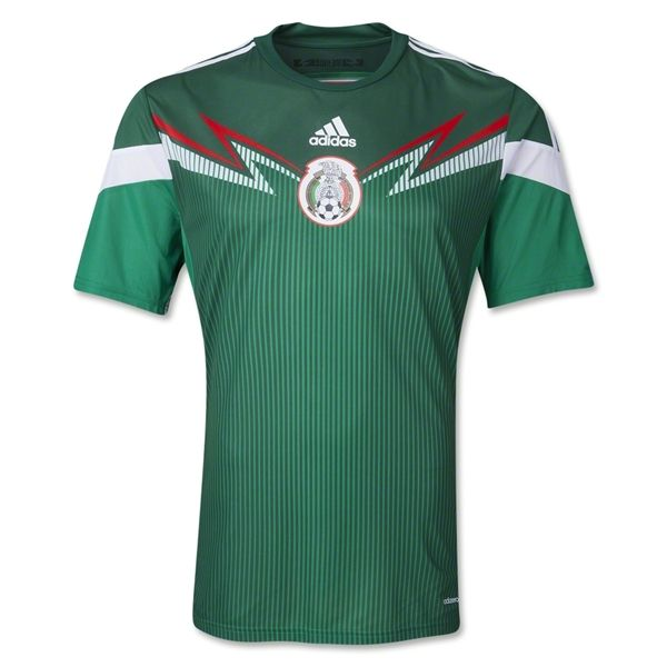 Mexico 2014 Authentic Home Soccer Jersey Soccer Jersey World Soccer Shop Mexico Soccer