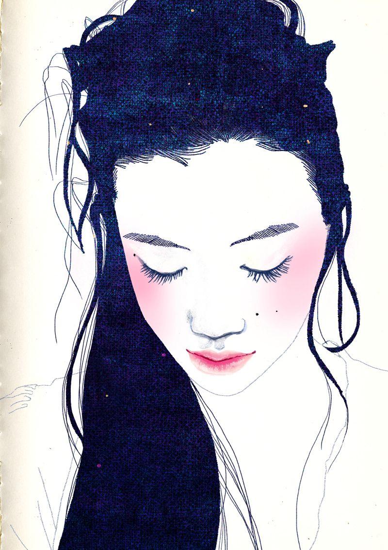Hajin Bae illustration.