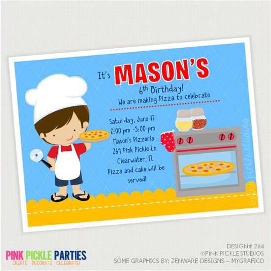 Pizza invitation pizza party pizza party invites pizza pizza pizza making party birthday invitation or by pinkpickleparties 1000 stopboris Image collections