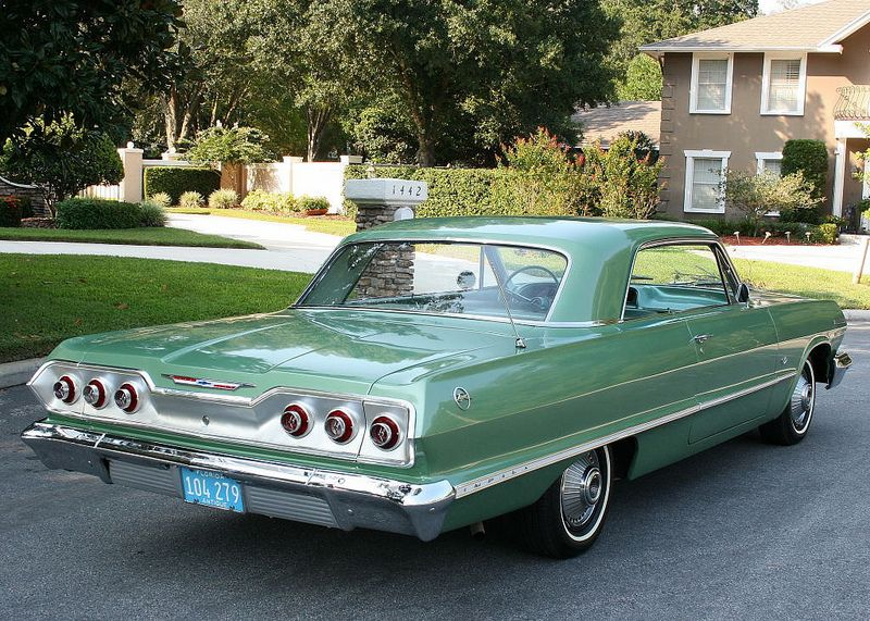 1963 Chevy Impala If It Was Black And A 1967 Now We Re Talking