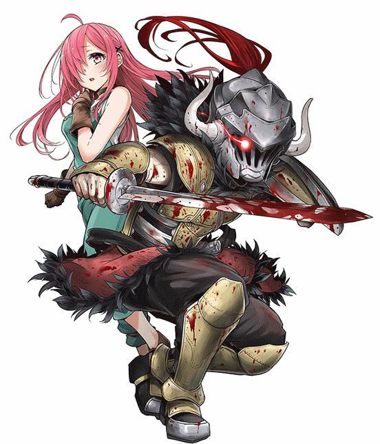Goblin Slayer Orcbolg And Cow Girl Anime Goblin Slayer