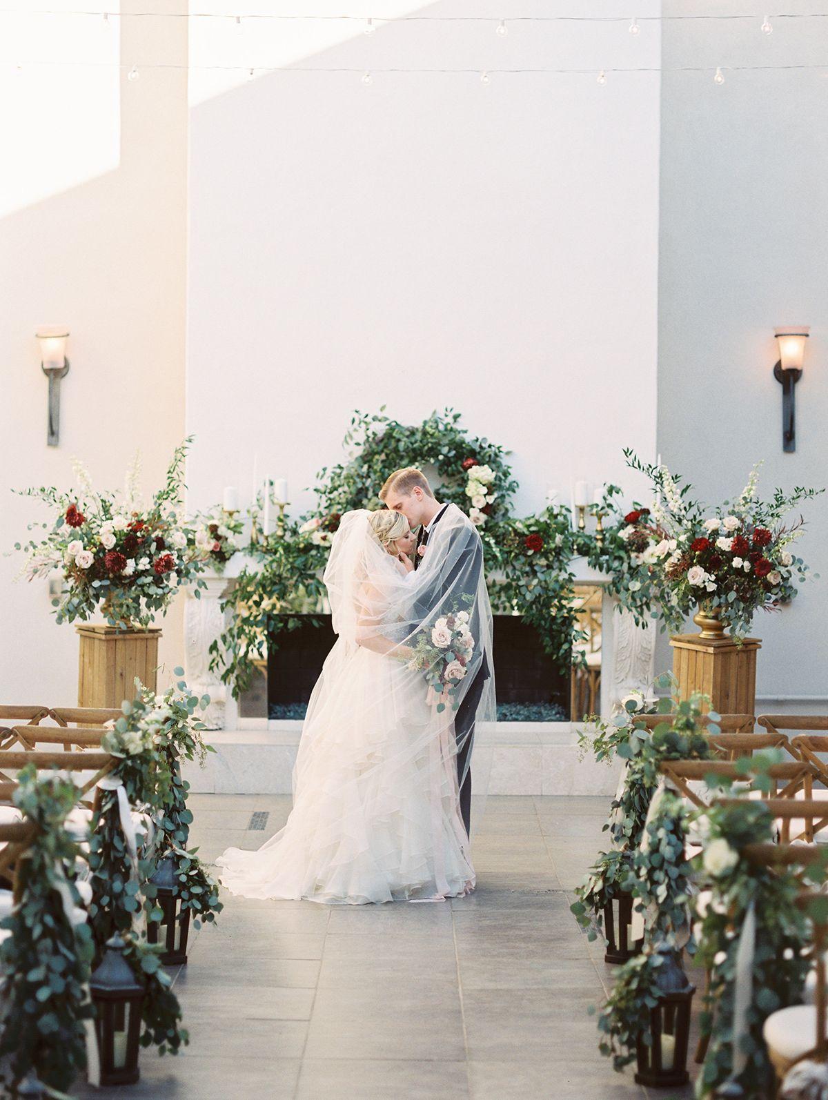 05647814fe secret garden romantic wedding ceremony - photo Charity Maurer  http   ruffledblog.com