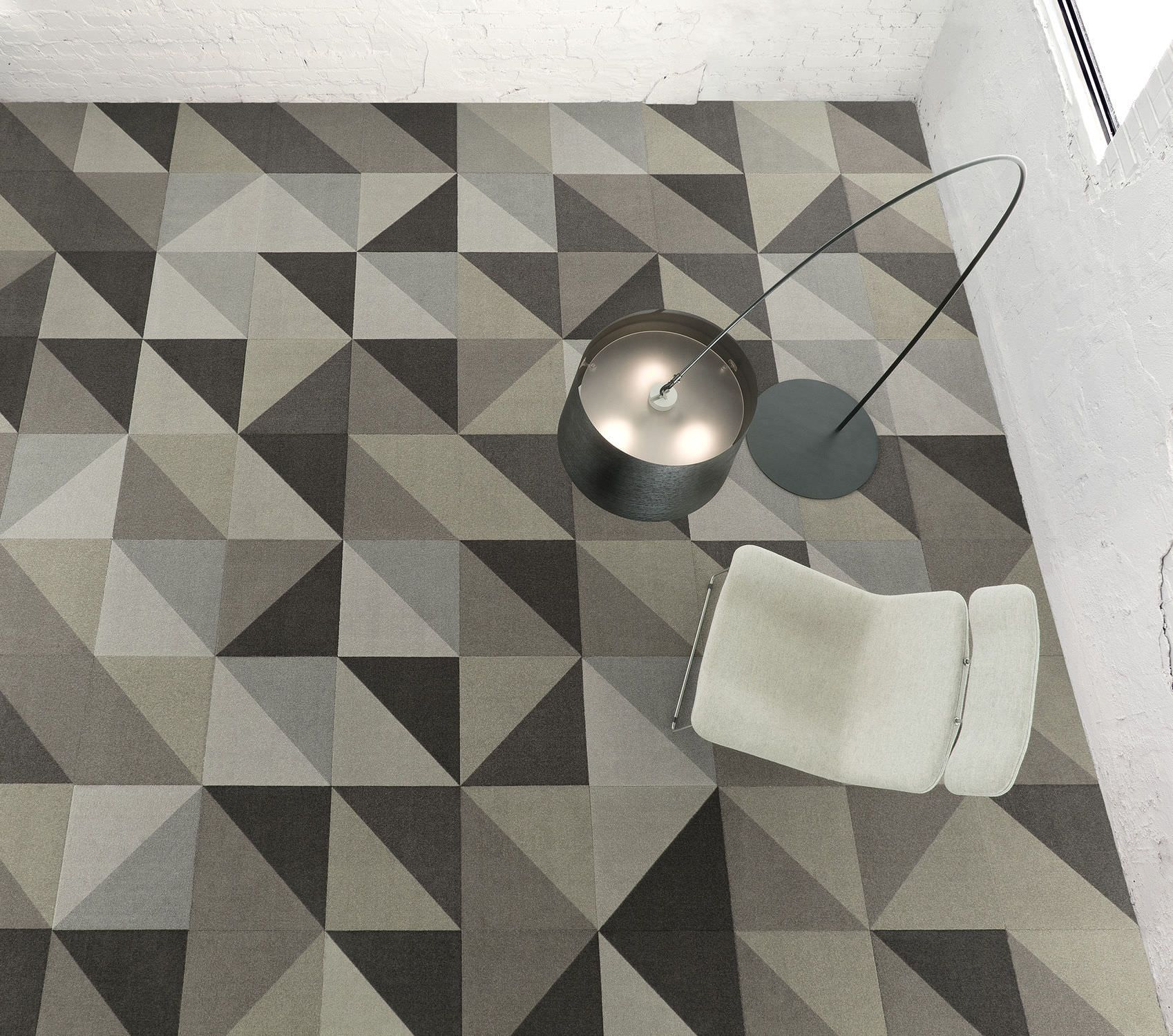 Tufted carpet synthetic loop pile low VOC ISOS DIAGONIOS