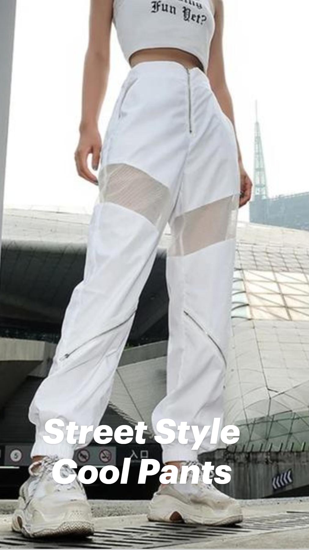 Street Style Cool Pants
