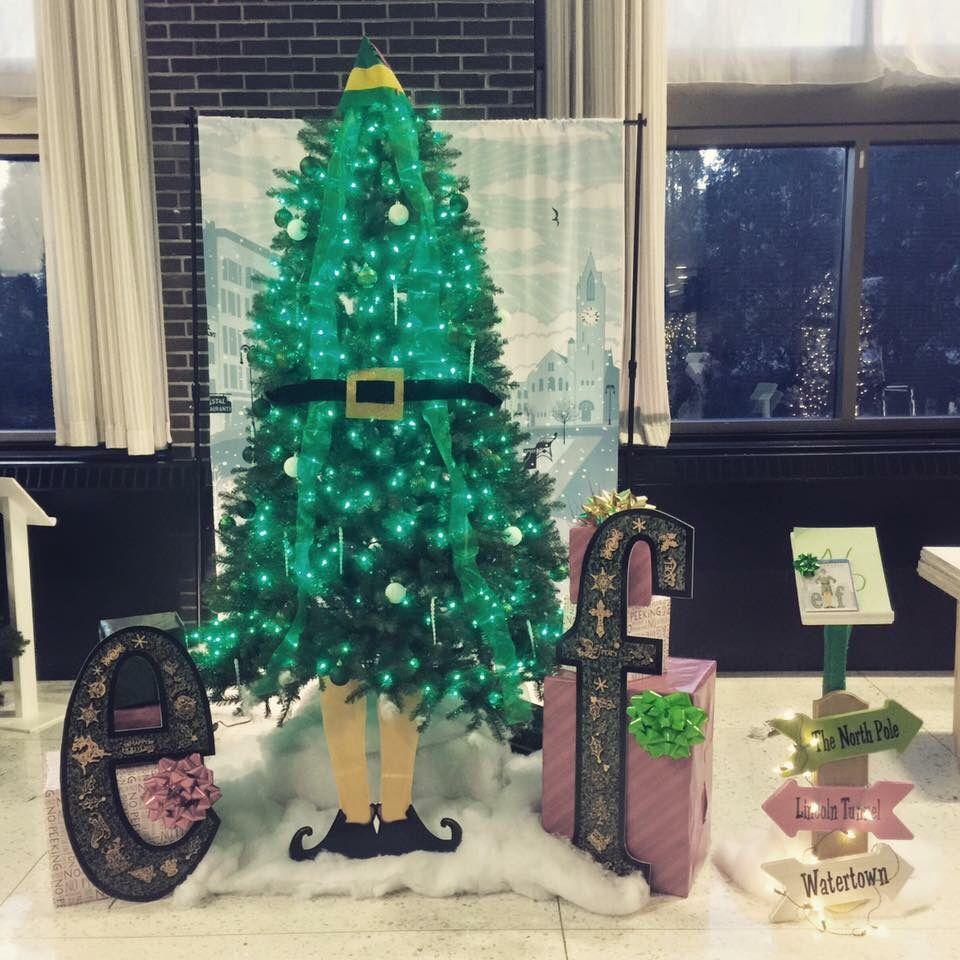 Buddy The Elf Christmas Tree Christmas Eve