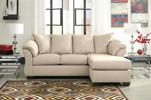 Ashley Darcy Stone Sofa Chaise