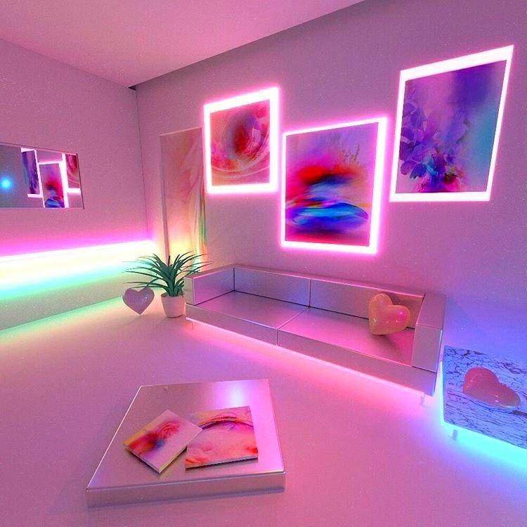 17 Best Ideas About Neon Bedroom On Pinterest: @candidaesthete, Snapchat: Snatchurdaddy (message Me That