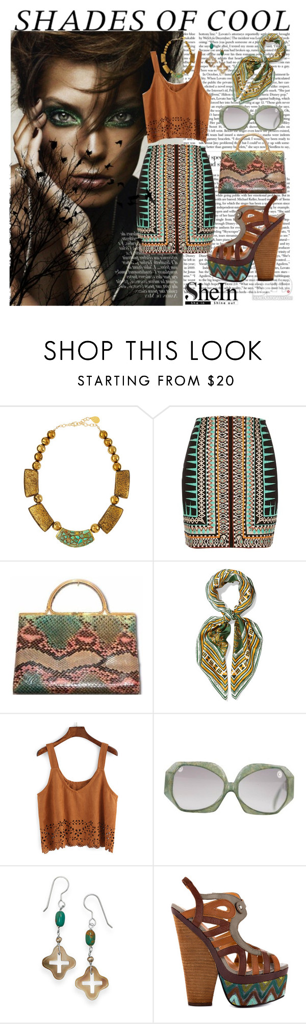 """""""Shades of Cool"""" by eliza-81 ❤ liked on Polyvore featuring Devon Leigh, River Island, Judith Leiber, Valentino, Christian Dior, BillyTheTree and N.Y.L.A."""