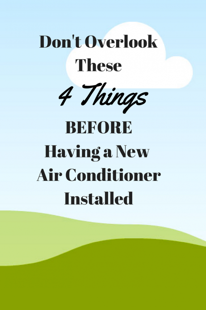 4 Things You Should Know Before Home AC Installation is
