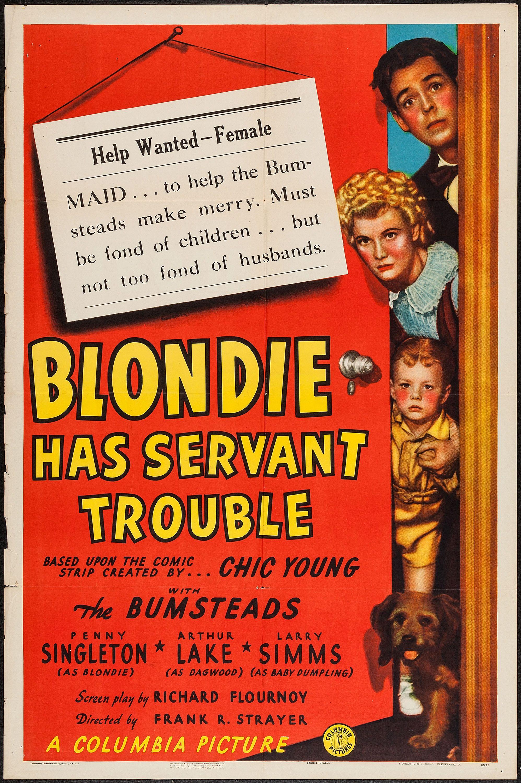 blondie in trouble