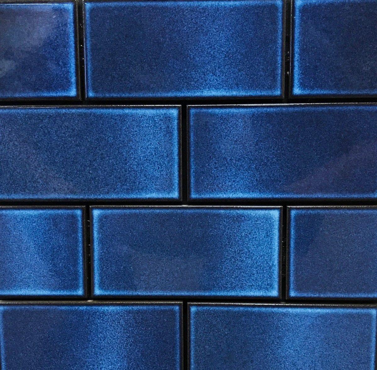 Portugal, Blue And White Ceramic Azulejo Tiles Stock Photo