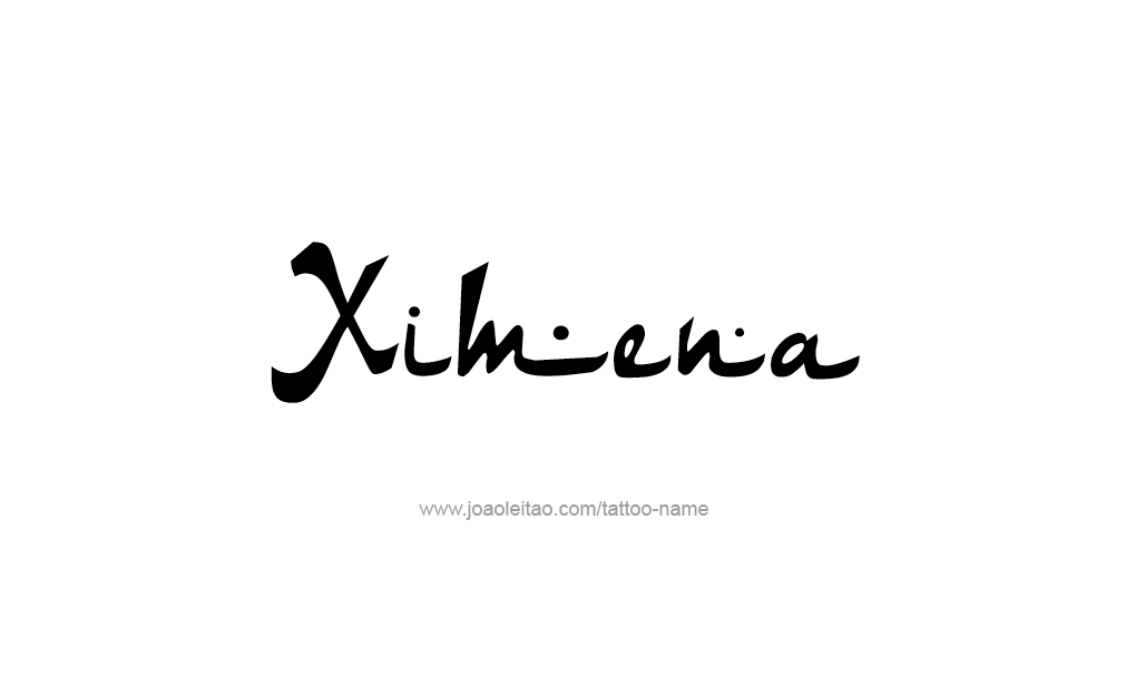 Ximena Name Tattoo Designs Tattoos Pinterest Name Tattoos