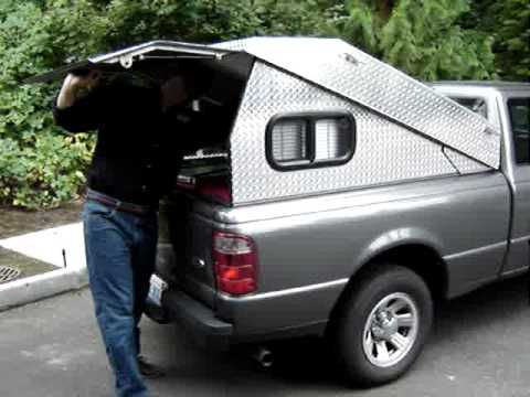 Tonneau Cover To Pickup Canopy In 19 Seconds Tonneau Cover Pickup Canopy Pickup Camping