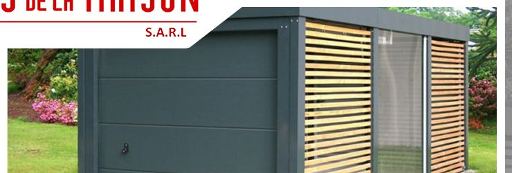 Pingl par vanessa b sur inspiration pour le jardin garage doors outdoor decor et garage - Baraque de jardin ...