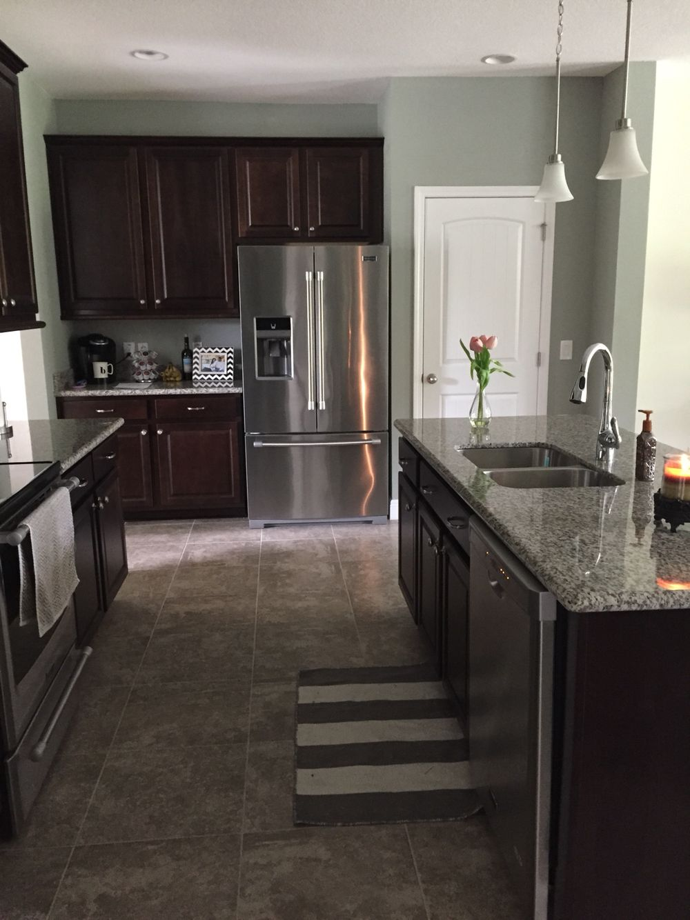 Kitchen Paint Colors With Dark Wood Sherwin Williams