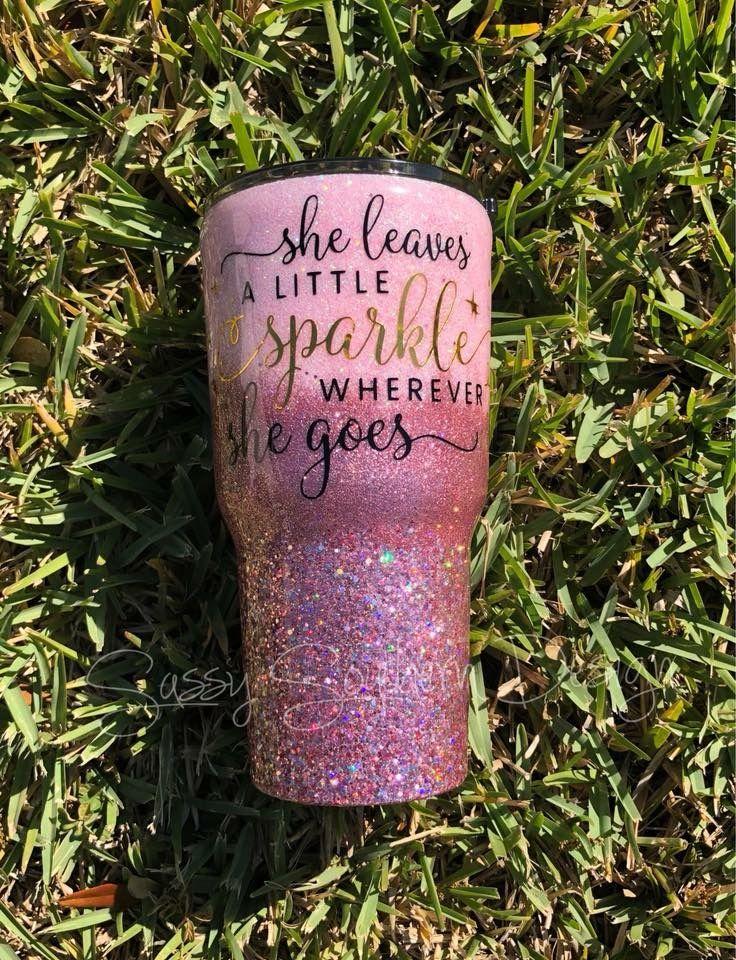She Leaves A Little Sparkle Where Ever She Goes Glitter