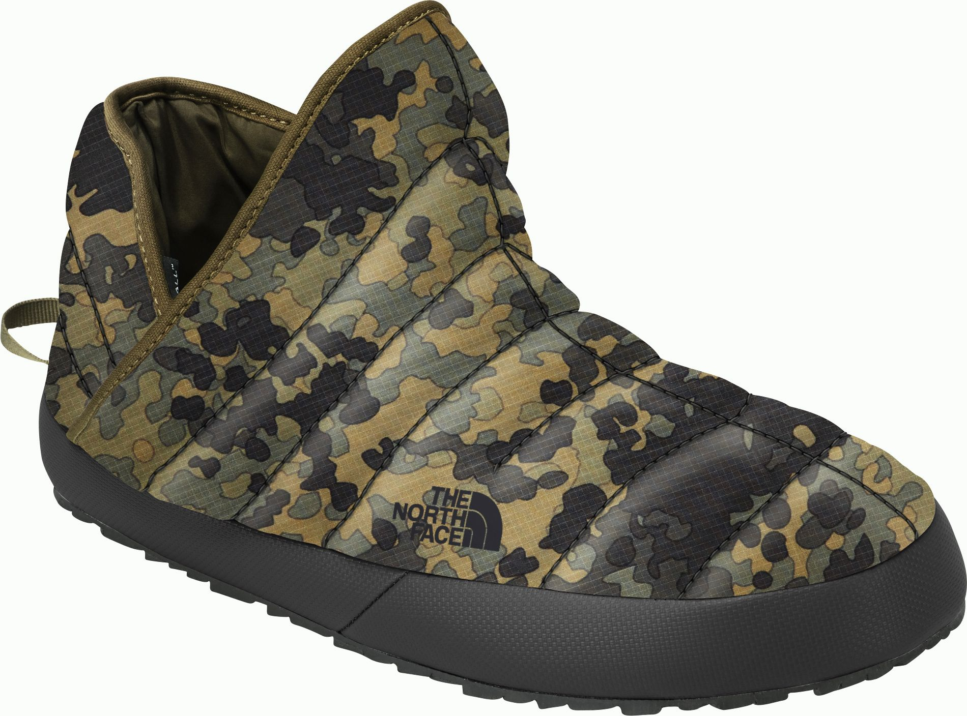 d7467b2f6 The North Face Men's Thermal Bootie Insulated Slippers, Green ...