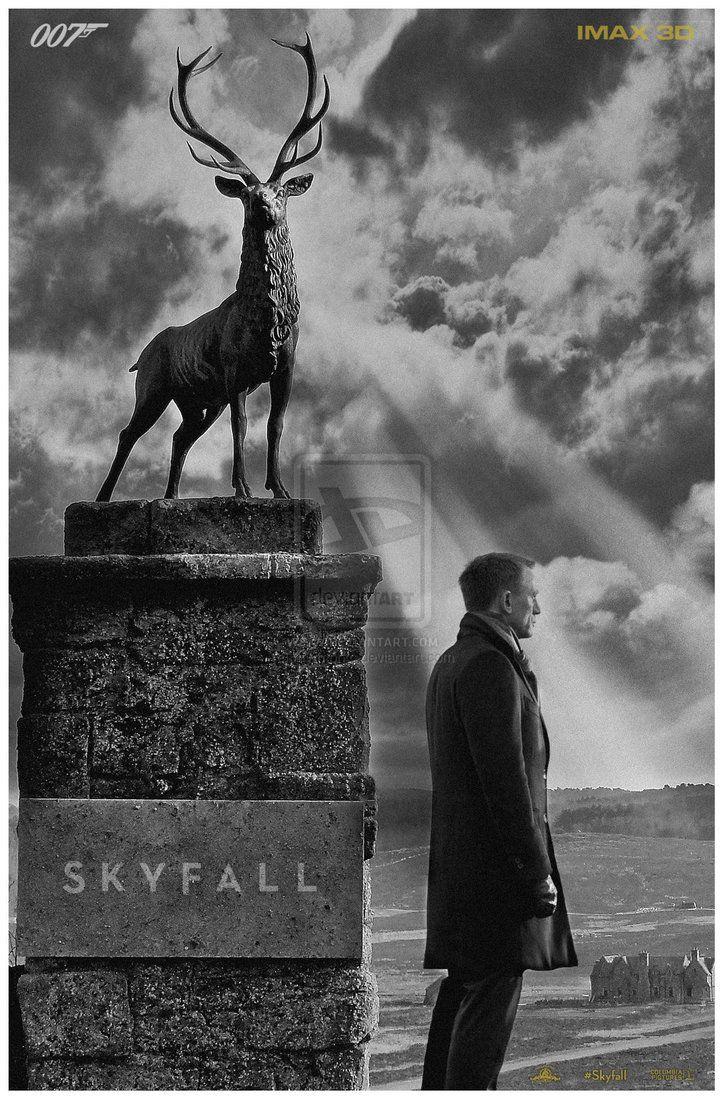 007: Skyfall (2012) by myrmorko | Double O\'Seven | Pinterest ...
