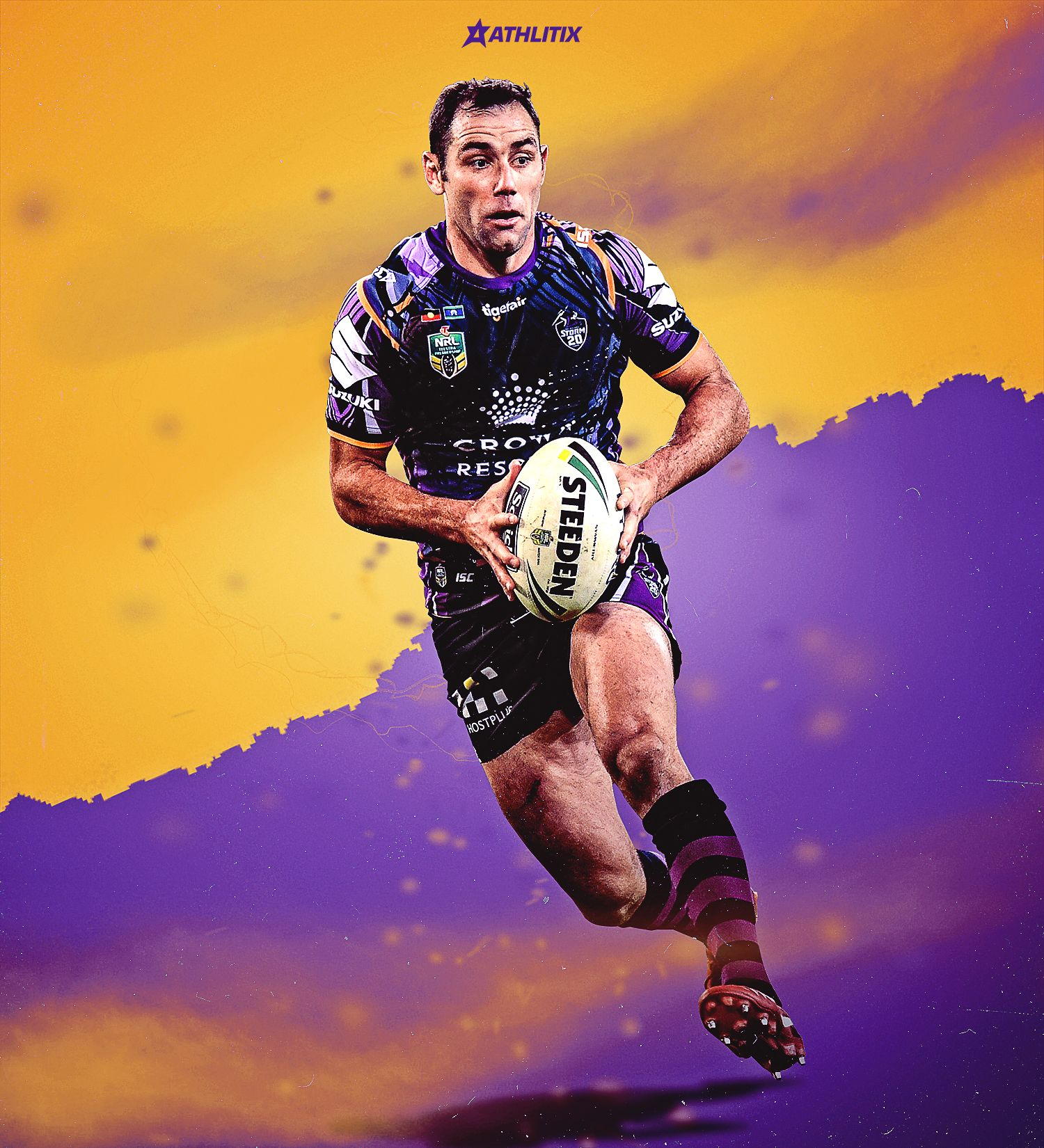 Cameron Smith Nrl Melbourne Storm Nrl Rugby League Cameron Smith