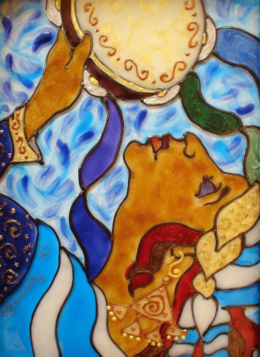 "Contemporary Painting ""Song of Miryam"" (Original Art"