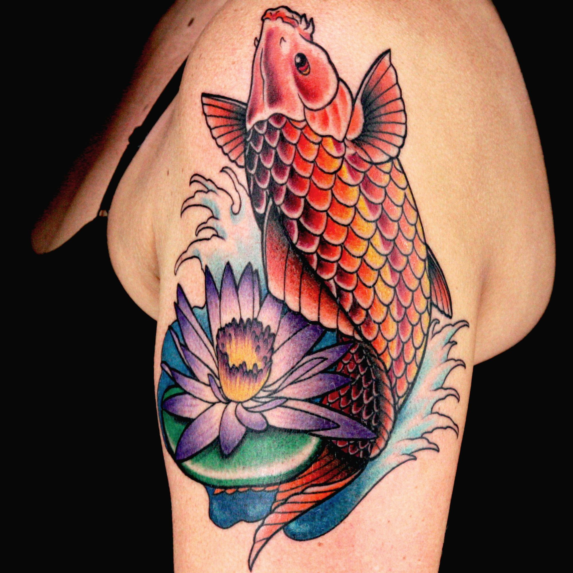 Check out this high res photo of Dave Clarke\'s tattoo from the Koi ...