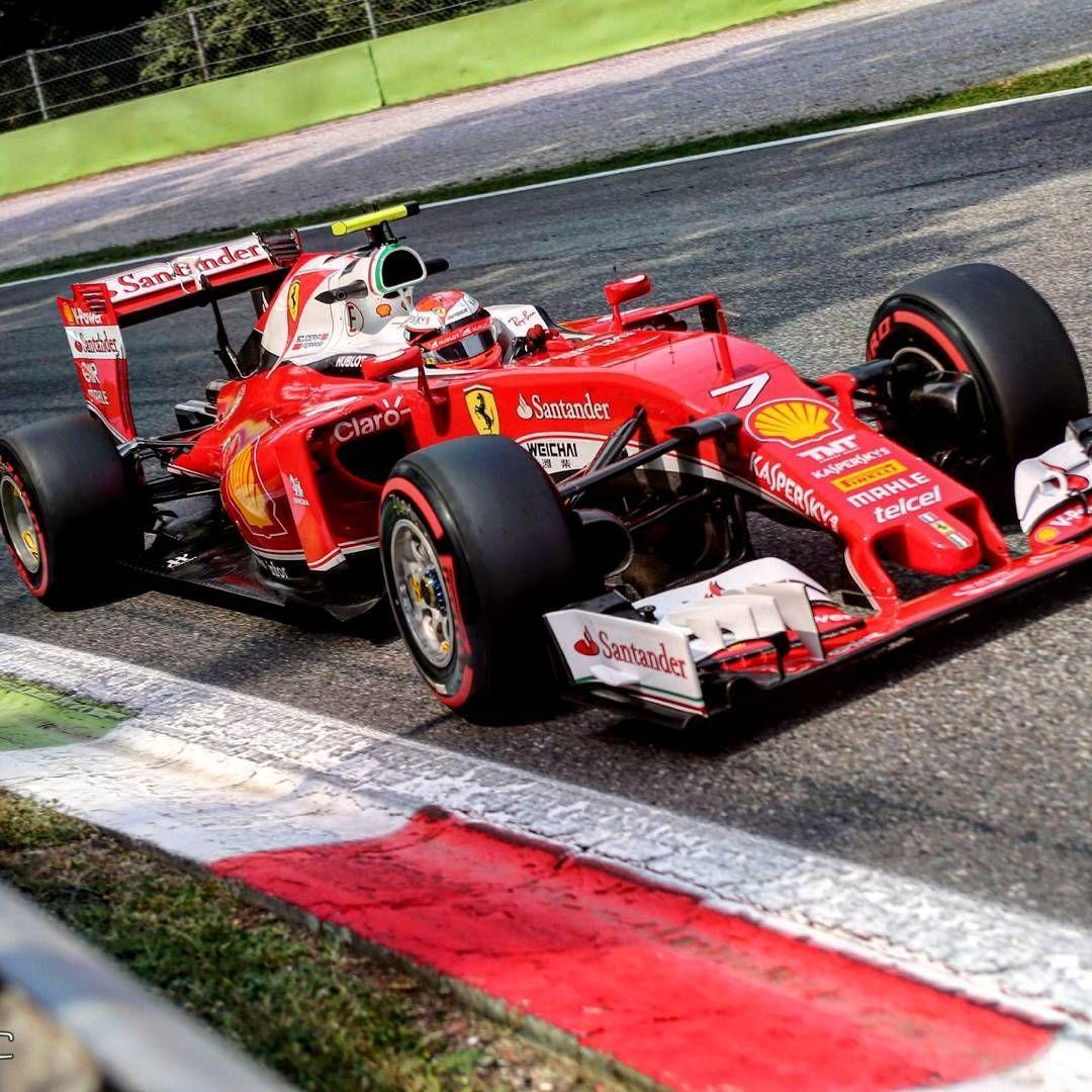 Kimi Raikkonen Scuderia Ferrari SF16-H ItalianGP 2016… | Ferrari, Ferrari racing, Ferrari 458