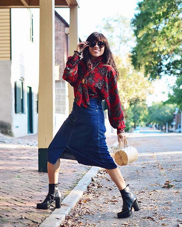 #40plusstyle inspiration: styling boots