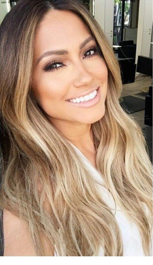 Sun Kissed Hair Tone And Makeup Inspiring Ladies Tan Skin Blonde Hair Jennifer Lopez Hair Jlo Hair